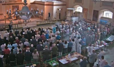 Special church service in St John's Waterloo