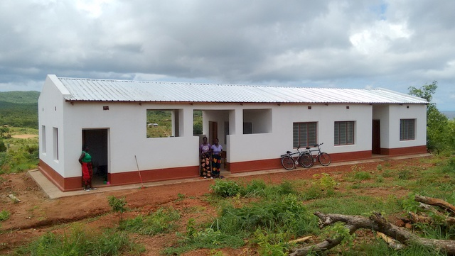 Completed office, with cooks